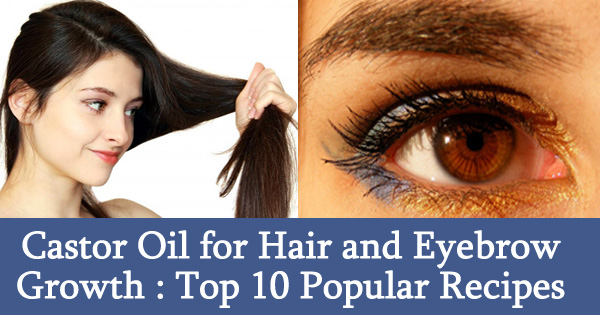 Castor Oil for Hair and Eyebrow