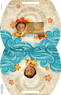 Moana Baby Free Printable Pillow Box,