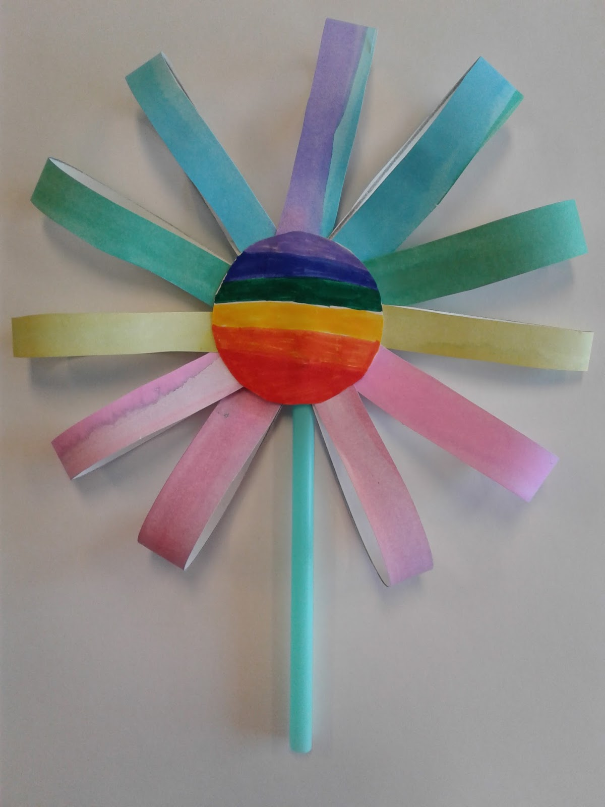 A Faithful Attempt Paper Loop Flowers