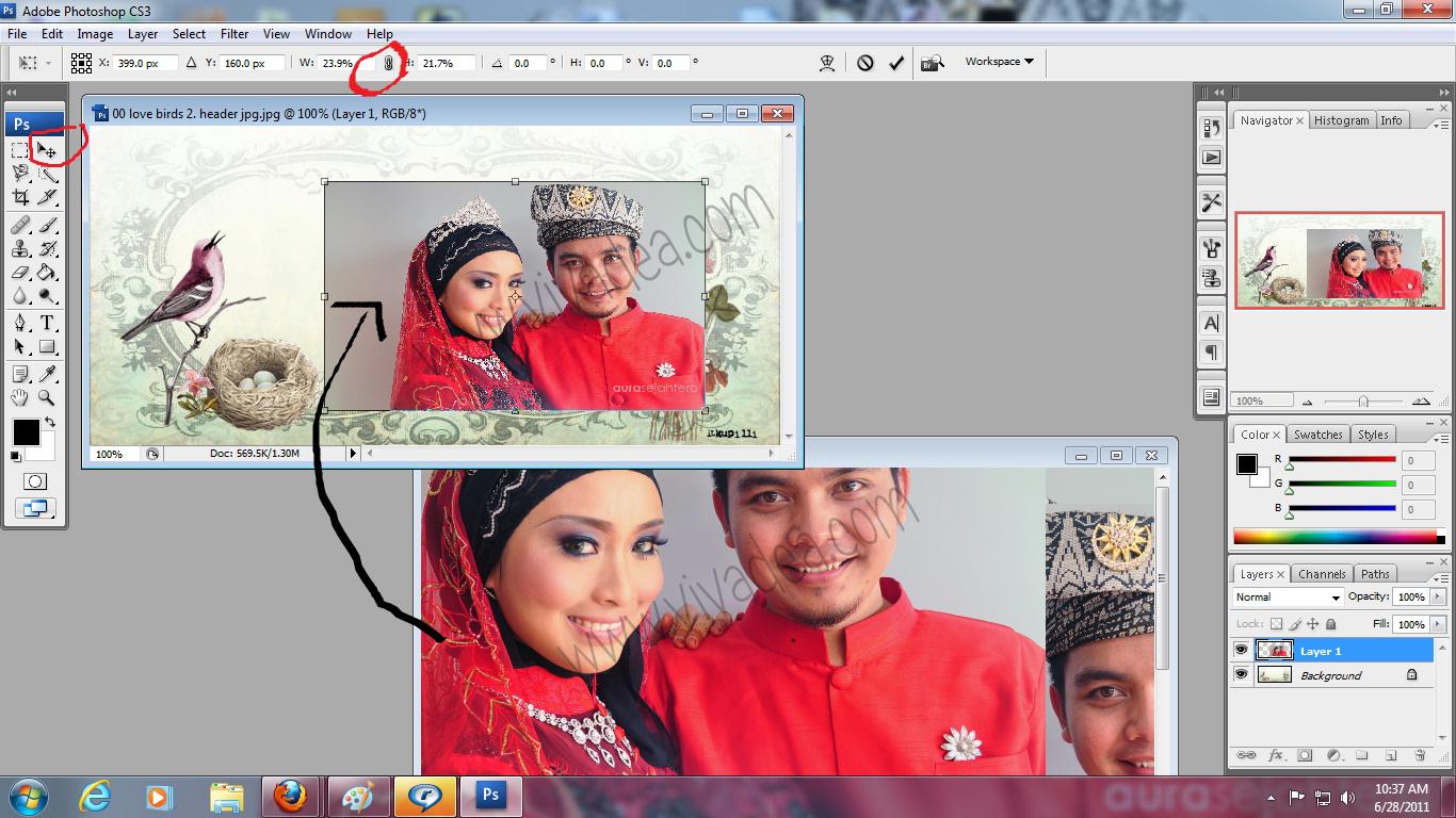 Dota2 Information: Cara Edit Gambar