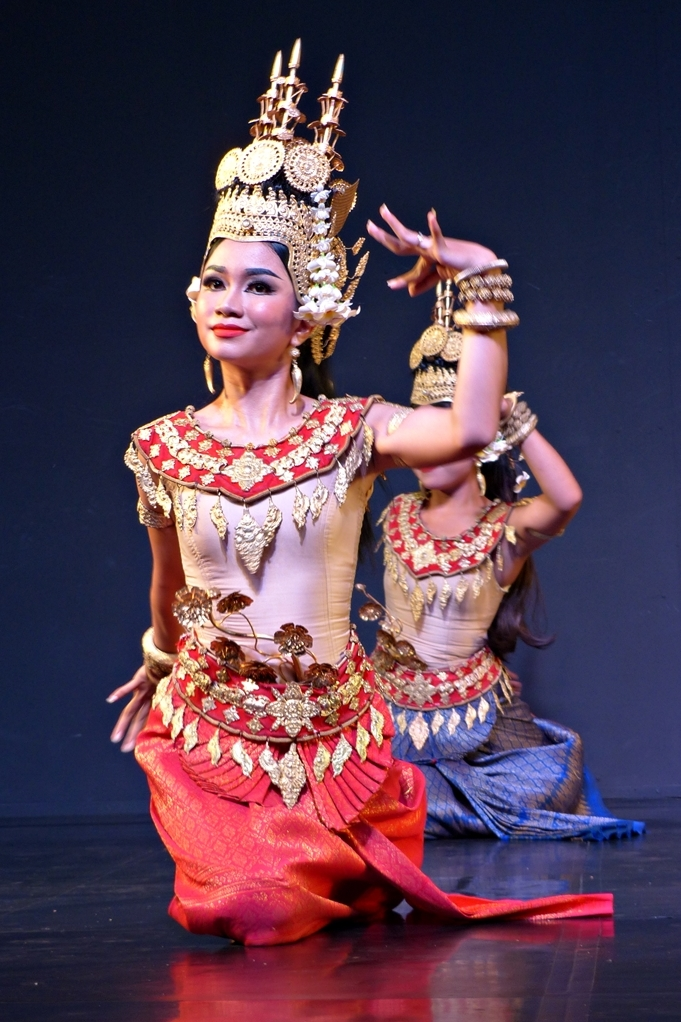 apsara dance costume from Cambodia