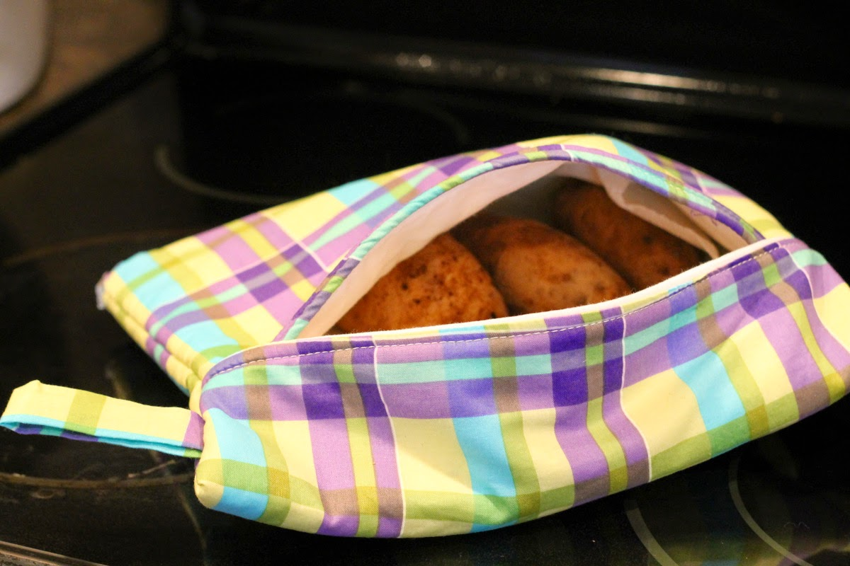 How to Make Microwave Baked Potato Bag Tutorial