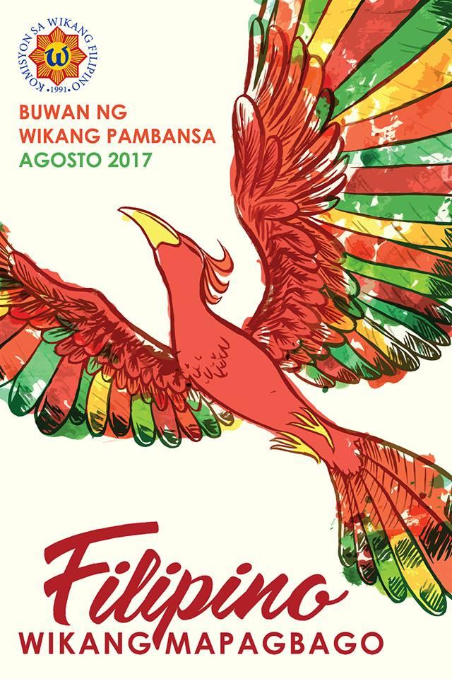 official poster Buwan ng Wika 2017