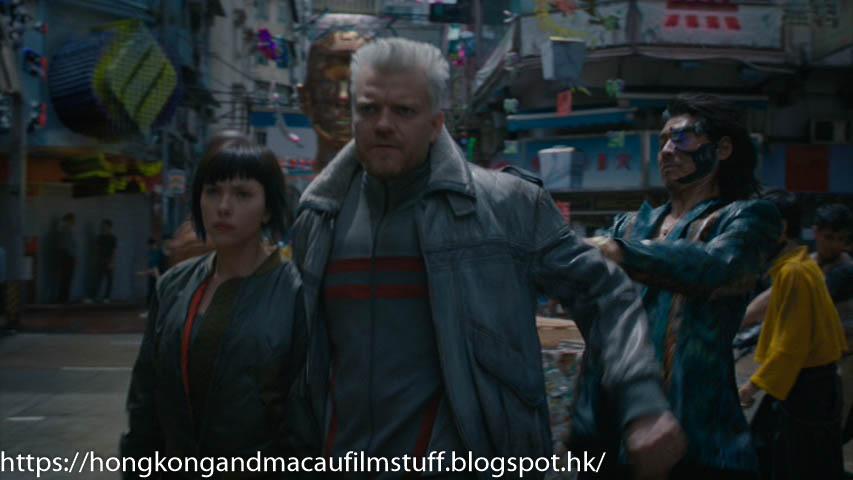 Hong Kong Macau Film Stuff Ghost In The Shell Scarlett Johansson 2017 Pak Hoi St Yau Ma Tei