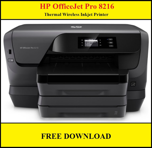 HP OfficeJet Pro 8216 Thermal Wireless Inkjet Printer