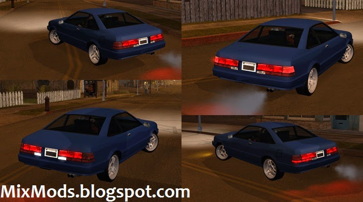 Original San Andreas vehicles adapted to ImVehFt