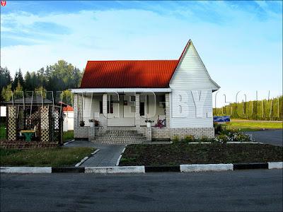 придорожное кафе у деревень Сани и Прилесье