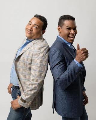 Humoristas. Raymond y Miguel.