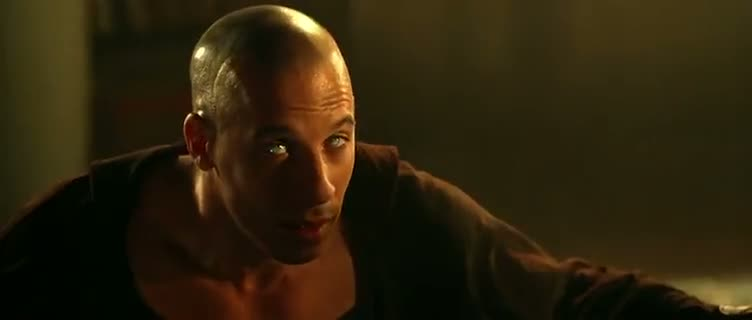 Screen Shot Of The Chronicles of Riddick (2004) Dual Audio Movie 300MB small Size PC Movie