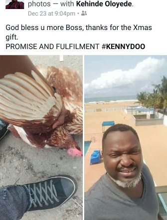 Funke Akindele's Ex Hubby, Kehinde Oloyede, Gives Out 1,000 Chickens