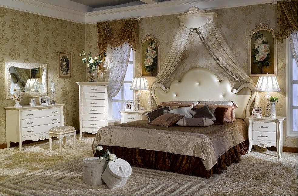 dormitorio estilo francés