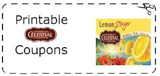 Tea Printable Coupons