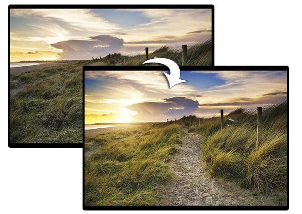 Коррекция пейзажных фотографий в Фотошопе