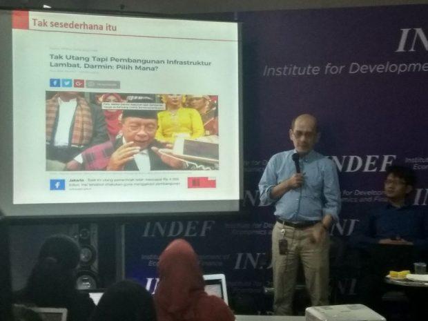 Tanggapi Menko Darmin, Peneliti INDEF: Indonesia Dijajah dengan Utang