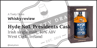 A Tasty Dram whisky review Hyde 10 year old Irish single malt