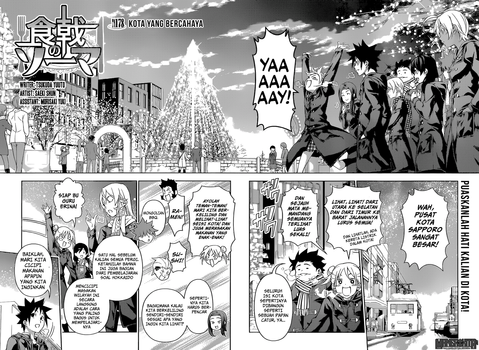 Shokugeki No Souma Chapter 178-4