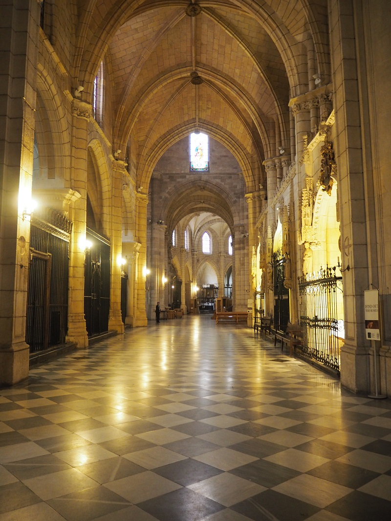 inside Murcia's cathedral
