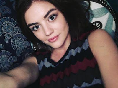 PLL Lucy Hale (Aria) bts filming episode 7x03