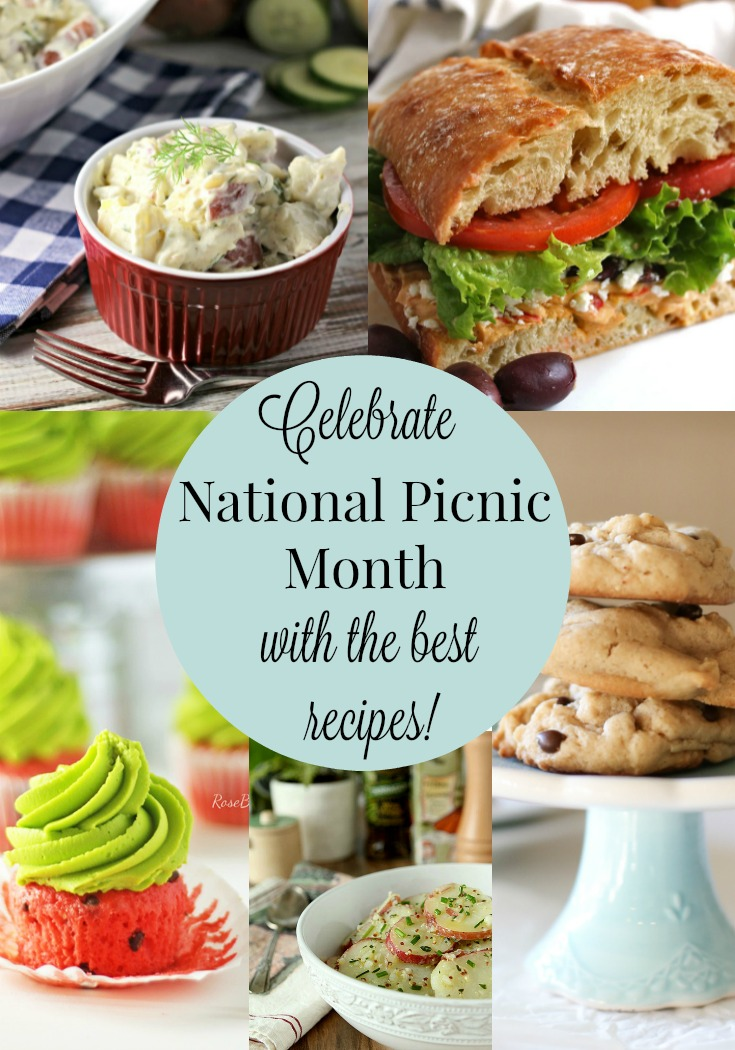 Best Picnic Recipes | by Renee's Kitchen Adventures - 10 best picnic recipes including sandwiches, salads, and desserts
