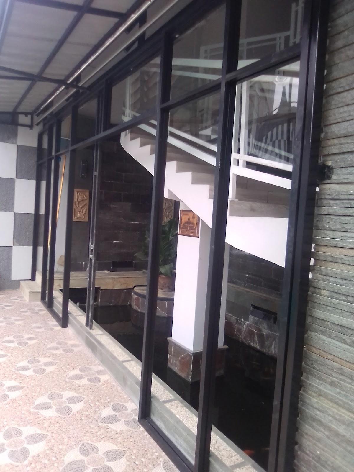 Kusen aluminium pintu kaca sliding pintu lipat for Kitchen set lampung
