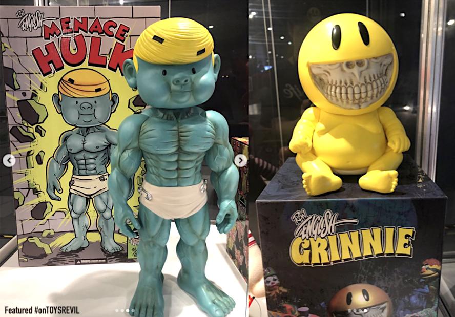 "SDCC 2019 Pop Life Ron English Menace Hulk 18/"" Vinyl Art Toy Exclusive"