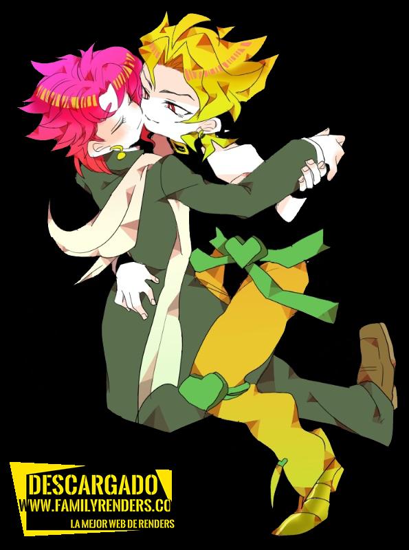 RENDER DIO + Noriaki Kakyoin