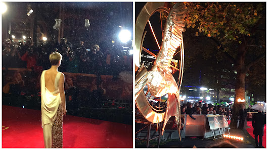 SO ON FIRE!!! Catching Fire Premiere in London!
