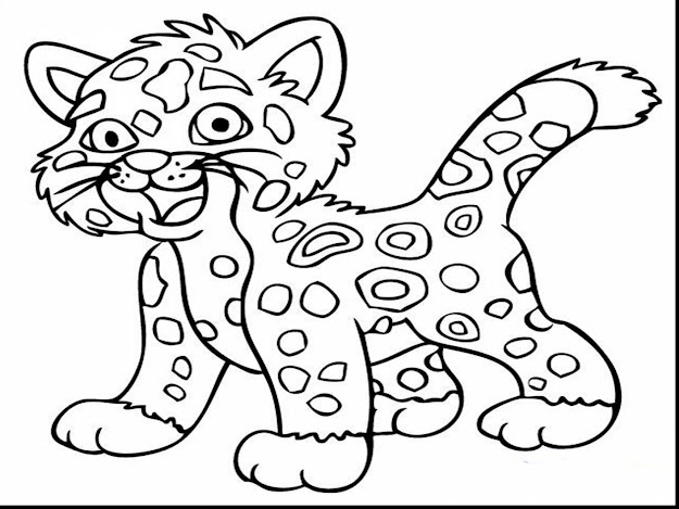 Astonishing Jaguar Animal Coloring Pages With Free Printable Animal  Coloring Pages And Free Printable Animal Coloring