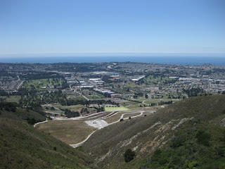 View of the cemeteries of Colma from San Bruno Mountain, San Bruno, California