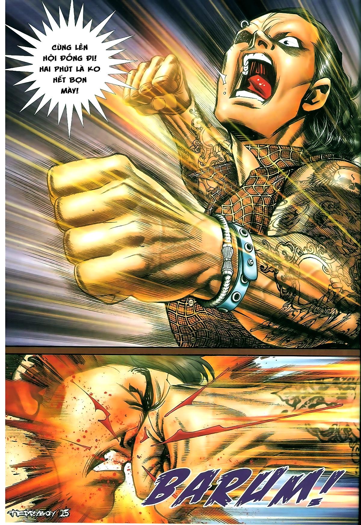 Người Trong Giang Hồ - Chapter 1328: Rắc rối - Pic 20