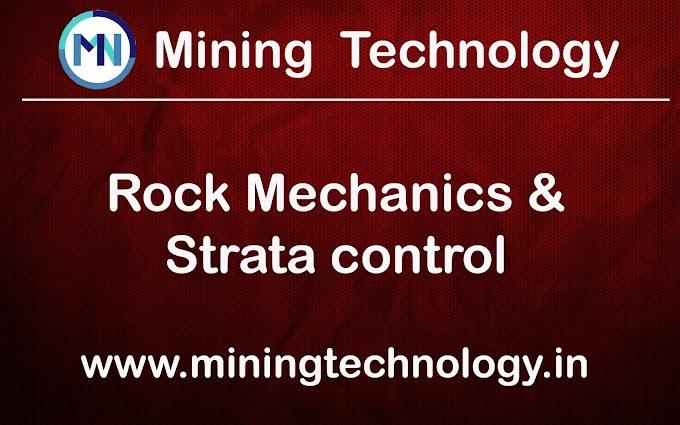 DMNG ROCK MECHANICS AND STRATA CONTROL