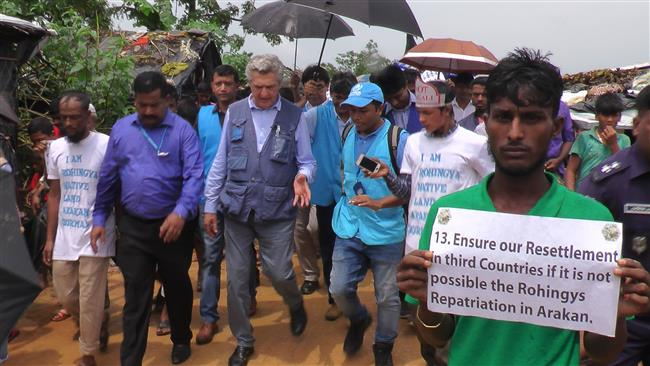 United Nations concerned about situation of Rohingya refugees in Bangladesh