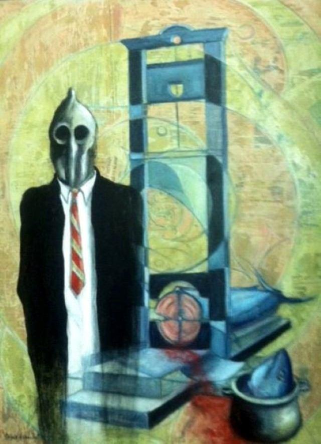 Доминиканский художник. Tony Espaillat