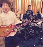 Brandon and Raghav School of Rock Threshold Recording Studios NYC