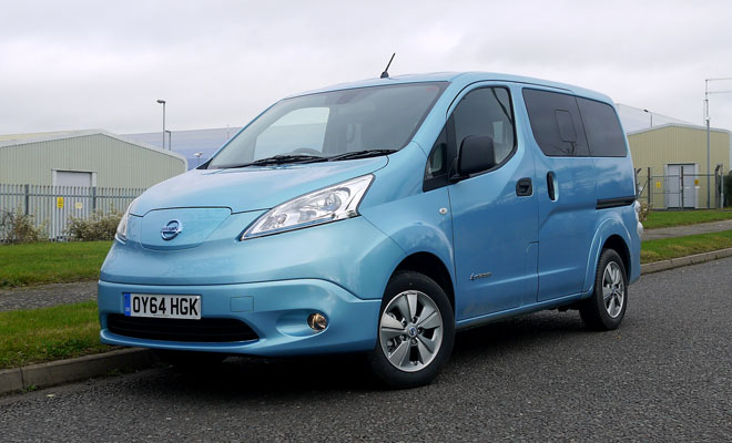Nissan e-NV200 front view