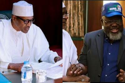 Muhammadu Buhari and Adebsyo Shittu