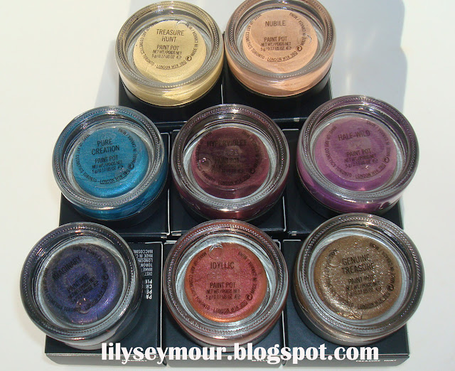 Mac's Posh Paradise Paintpots