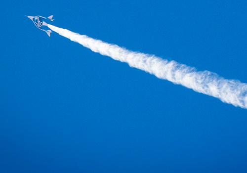Tinuku.com Virgin Galactic tested VSS Unity on gravity shift weight