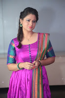 Shilpa Chakravarthy in Purple tight Ethnic Dress ~  Exclusive Celebrities Galleries 025.JPG