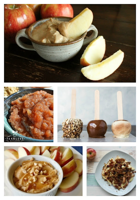 23 Family Favorite Apple Recipes - Apple Snacks #Celebrate365