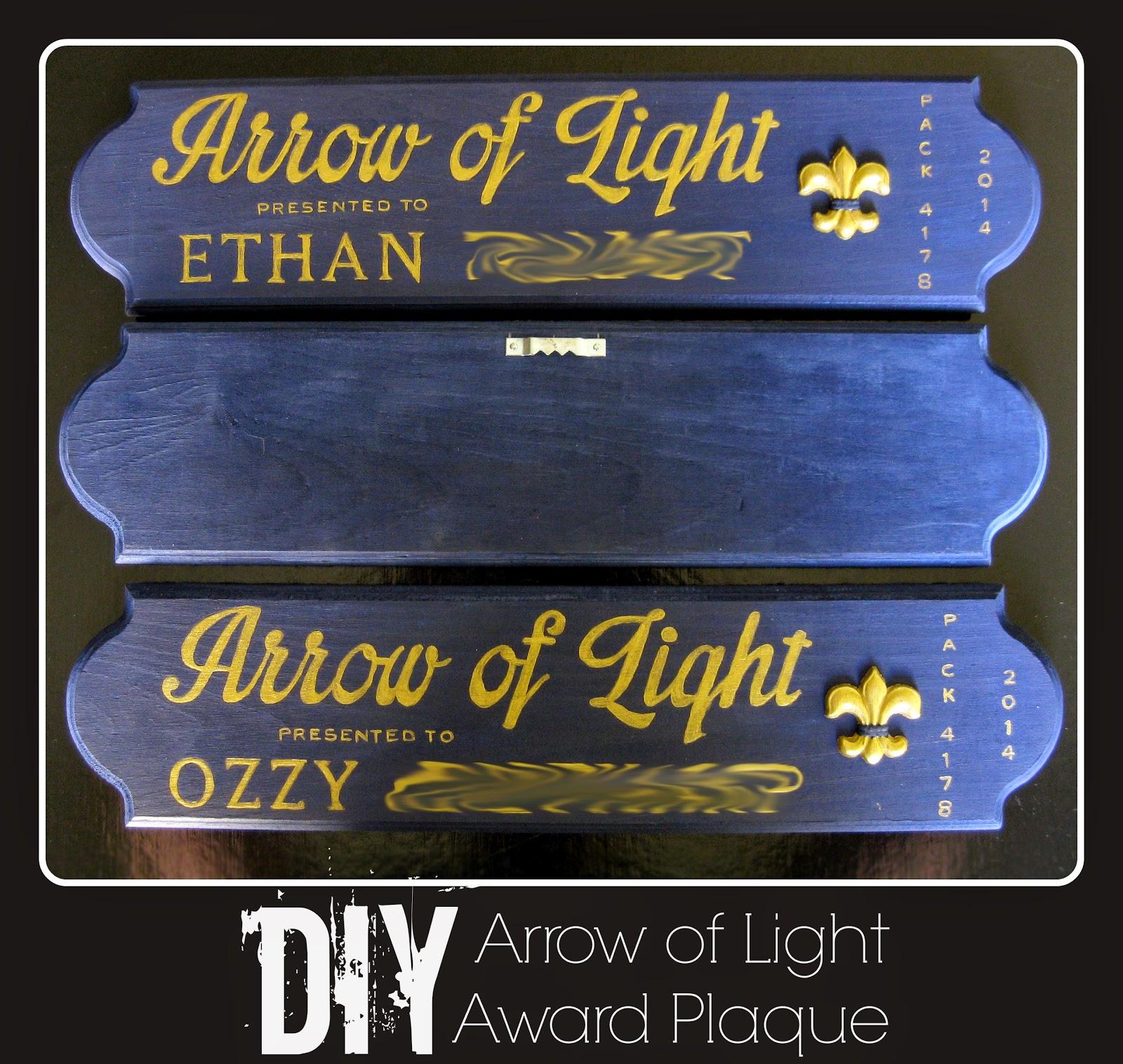arrow of light plaque with arrow.html