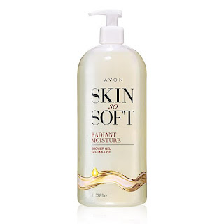 Skin So Soft Radiant Moisture Bonus-Size Shower Gel