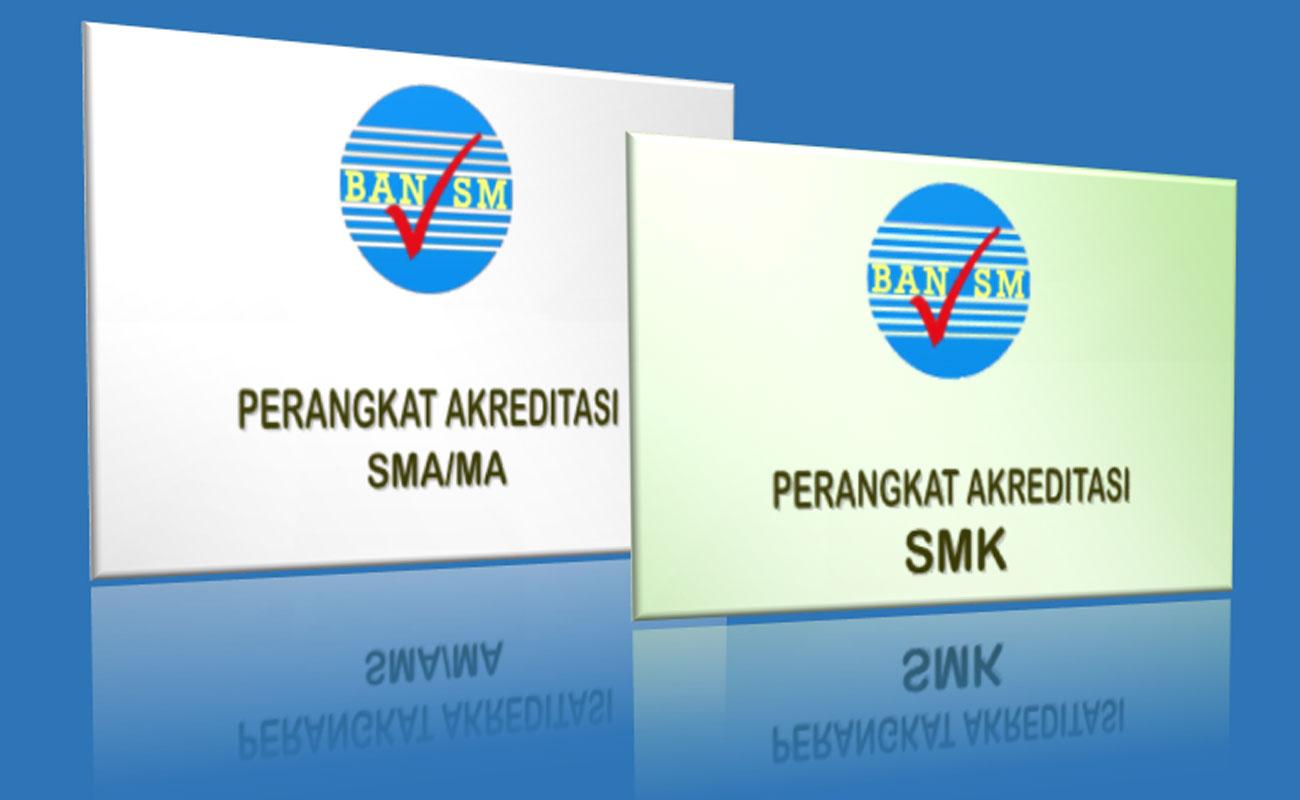 Download Perangkat Instrumen Akreditasi MA SMA SMK Terbaru