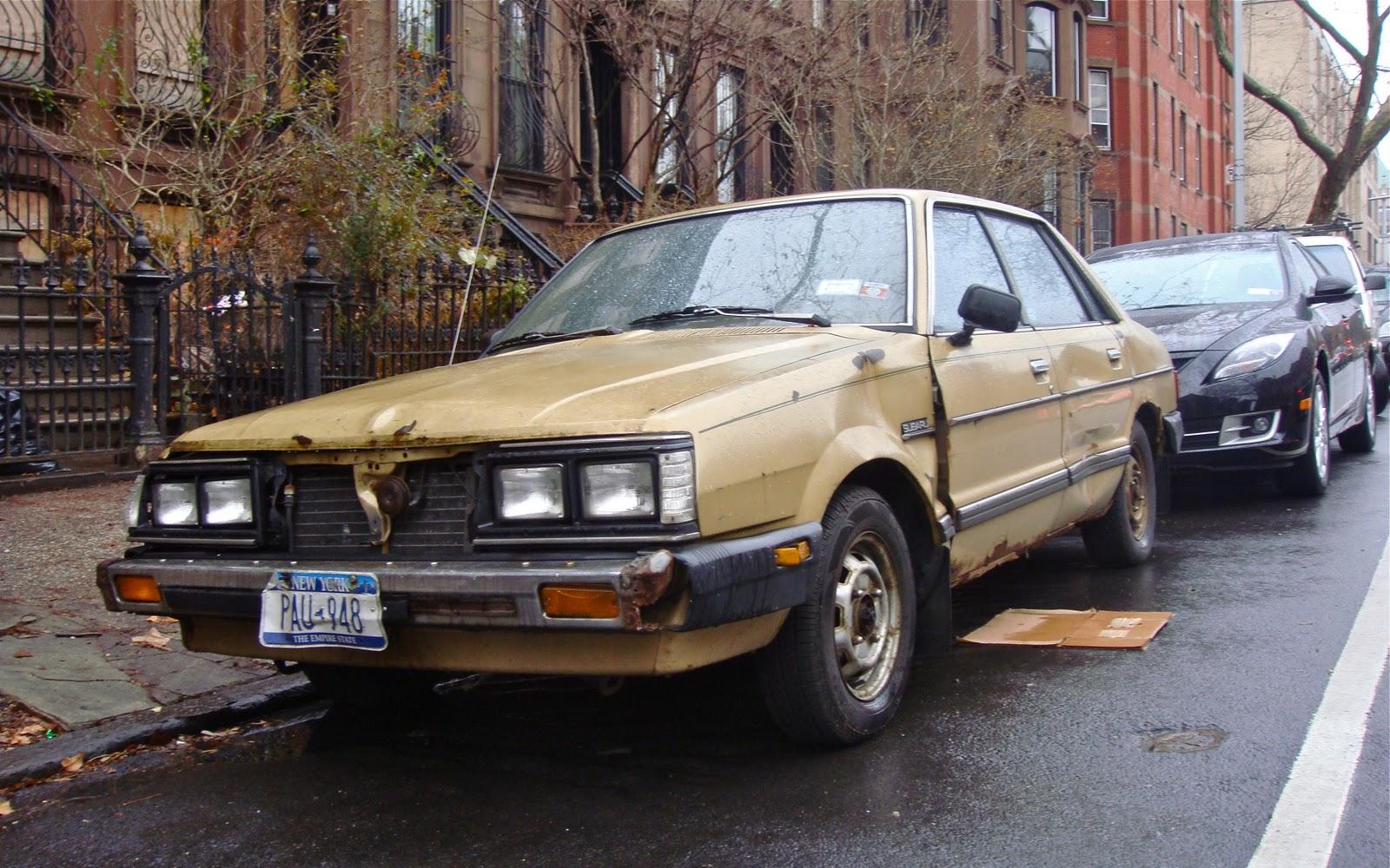 The Street Peep 1982 Subaru Gl