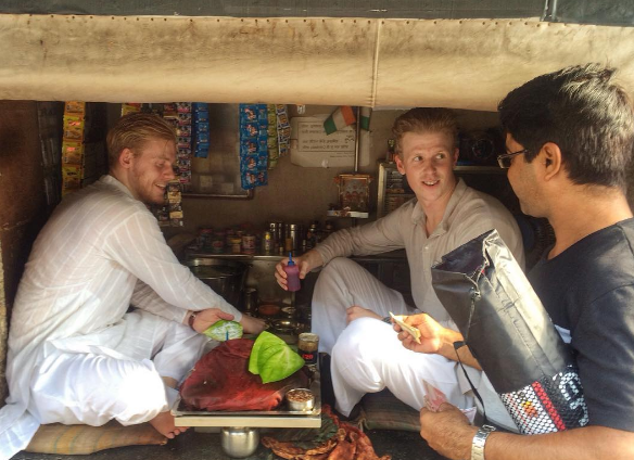 Two Swedes Hampus and Johan have opted to trade the serene boredom of their country for the maximum life at Mumbai.   They seem to want to make a Bollywood movie – Two foreigners in Mumbai – but are afraid that by the time the censor board finishes with it, nothing will be left in the film.   On their Instagram page they have posted a few videos of funny skits. They try to drive auto, sell vegetables putting on the tapori Mumbai attitude.