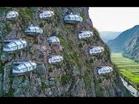 Sensasi Menginap di Hotel Gantung Tertinggi di Dunia Dinding Tebing Gunung Parang, Purwakarta
