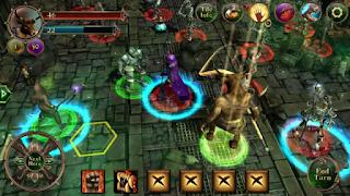 Datanglah ke sebuah kota kuno Angor dan bersiaplah dalam pertempuran epic di dalamnya Unduh Game Android Gratis Demon's Rise apk + obb