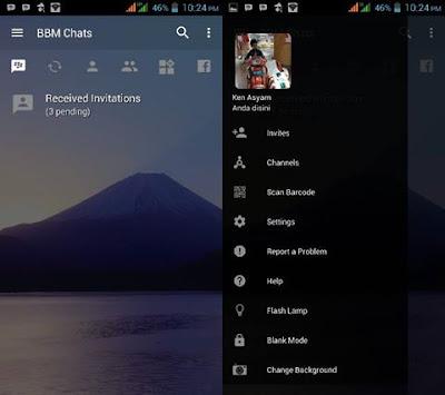 BBM Mod Special New Year Apk Terbaru [BBM ModYar] 3.2.0.6