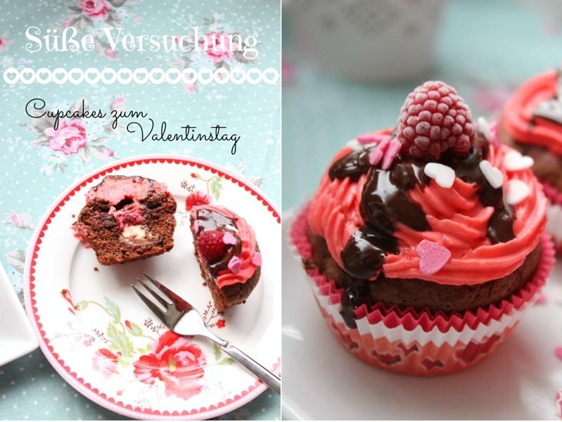 valentinstag cupcakes ich wurde ver ffentlicht sasibella. Black Bedroom Furniture Sets. Home Design Ideas
