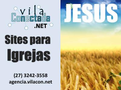 Site para Igrejas Evangélicas